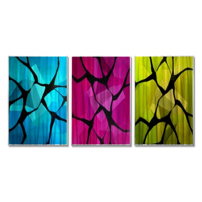 Broken Dreams Collide by Giro Tavitian 3 Piece Painting Set 0117ME00012