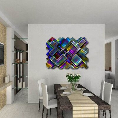 Psychedelic Labyrinth Abstract Wall Art - 23