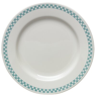 Homer Laughlin-diner Check Nappy Bowl In Turquoise
