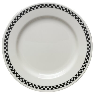 Diner Check Dinnerware Collection In Black-diner Check Jumbo Cup In Black