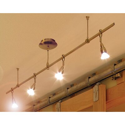 Straight Monorail Track Lighting Kit
