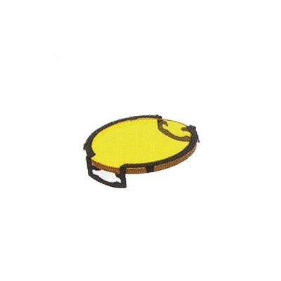 Lens Single Clip Dichroic Lense or Filter Shade Color: Yellow, Finish: Black