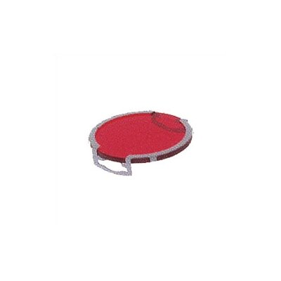Lens Single Clip Dichroic Lense or Filter Shade Color: Red, Finish: Silver