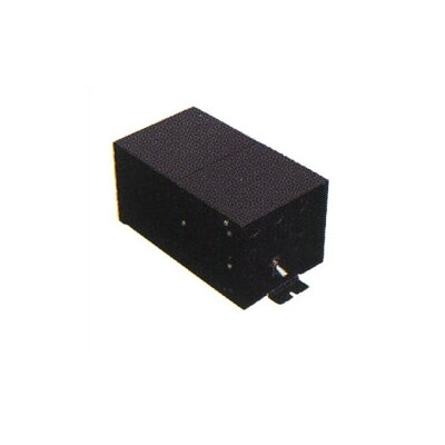 Broadlands Fusion Monorail 300W Remote Magnetic Transformer with Black Metal Housing - Multiple Voltage Options Input Volt/Output Volt/Input Current: 1 x 120 VAC/12V/2.5A