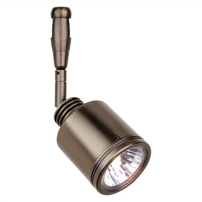 Rev Swivel 1-Light Track Head Finish: Bronze, Stem Length: 12 Straight, Mounting Type: Track Head Only