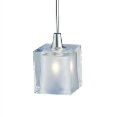 Rocks 1-Light Mini Pendant Finish: Satin Nickel, Mounting Type: Pendant with Canopy/Transformer