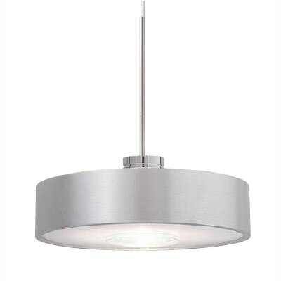 Strachan Hover 1-Light Mini Pendant Finish: Satin Nickel, Mounting Type: Track Head