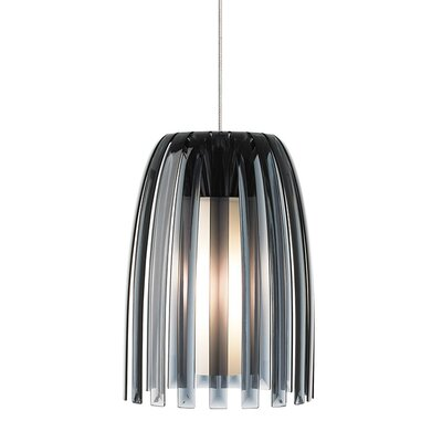 Mini-Olivia 1-Light Fusion Jack Mini Pendant Bulb Type: GY6.35 Xenon 50 W, Shade Color: Smoke