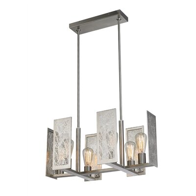 Tessa 6-Light Pendant Finish: Bronze