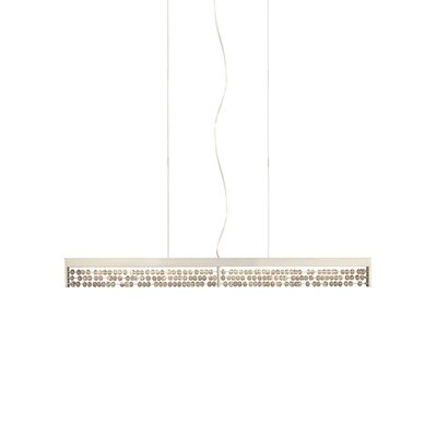 Roka 1 Light Kitchen Island Pendant Finish: Clear/Satin Nickel