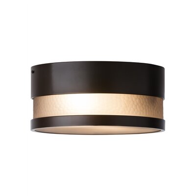 Moon Dance Flush Mount Finish: Bronze, Bulb Type: LED 120 V