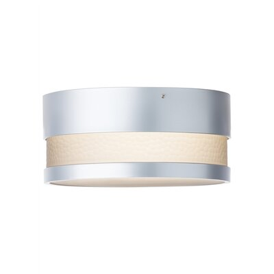 Flush Mount Finish: Silver, Bulb Type: LED 120 V