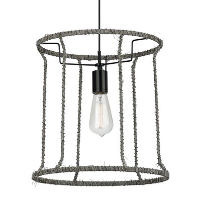 Linnet B 1-Light Mini Pendant Bulb Type: Incandescent