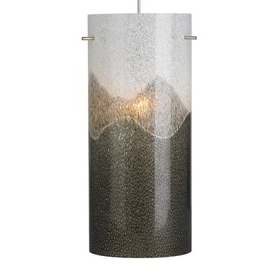 1-Light Mini Pendant Finish: Satin Nickel
