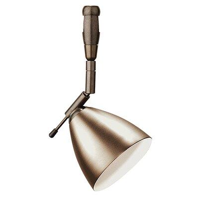 Orbit Swivel I 1-Light Monopoint Track Head Finish: Bronze, Size: 1 H