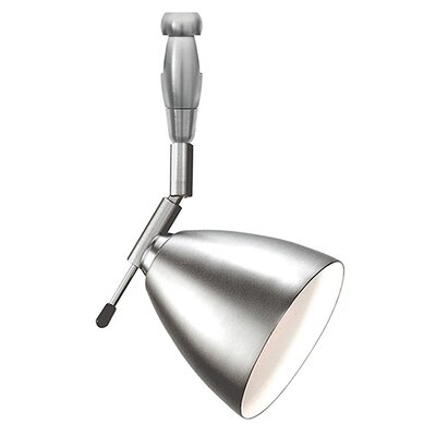 Orbit Swivel I 1-Light Track Head Size: 6 H, Finish: Satin Nickel