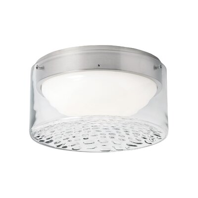 Precip 1-Light Flush Mount Voltage: 120V