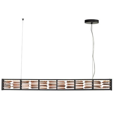 Scarlett 1-Light Mini Pendant Finish: Gunmetal, Shade Color: Rose Gold