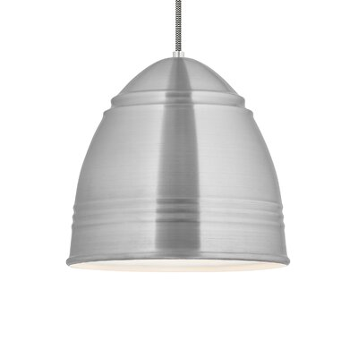 Loft 1-Light Grande Pendant Finish: Brushed Aluminum