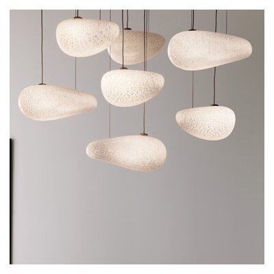 Constellation 7-Light Shaded Chandelier Finish: Bronze