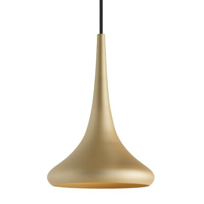 Noema 1-Light Mini Pendant Finish: Gold