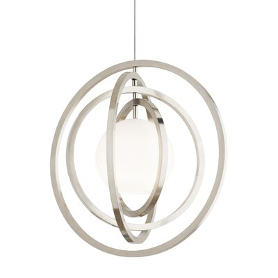Oreon 1-Light Foyer Pendant