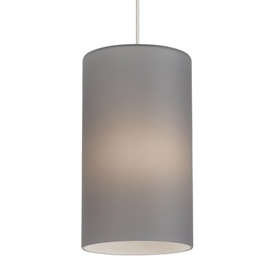 Crosson 1-Light Mini Pendant Shade Color: Smoke