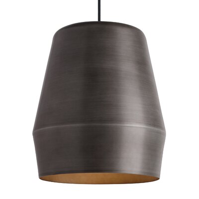Otoole 1-Light Mini Pendant Finish: Fossil Gray