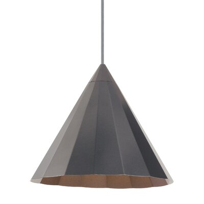 Astora 1-Light Mini Pendant Finish: Gunmetal