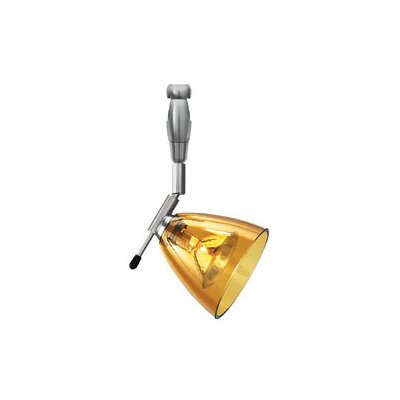 Broadbent 1-Light Directional & Spotlight Shade Color: Amber, Mounting Type: Fusion Jack, Length: 6