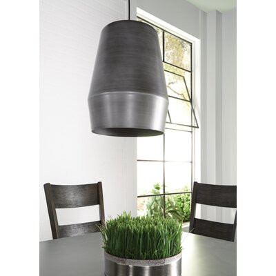 Allea 1-Light Mini Pendant Finish: Fossil Gray