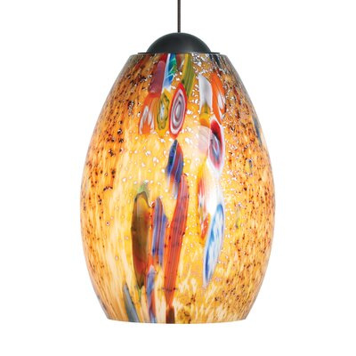 Hepworth 1-Light Mini Pendant Finish: Bronze