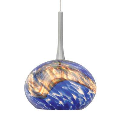 Hersey 1-Light Mini Pendant Finish: Satin Nickel