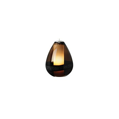 Herron 1-Light Mini Pendant Color: Satin Nickel