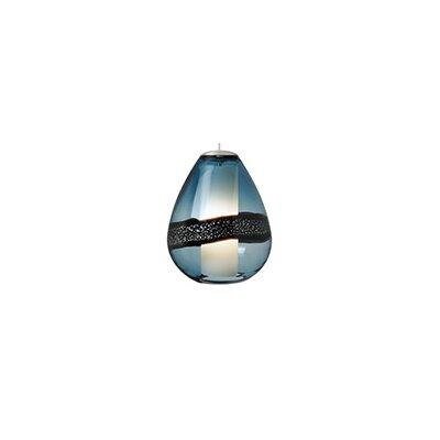 Herron 1-Light Mini Pendant Color: Satin Nickel