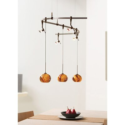 Hersey 1-Light Mini Pendant Color: Bronze