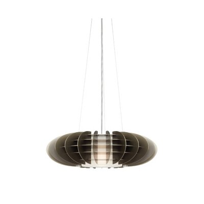 Chicago 1-Light Jazz Pendant Bulb Type: Incandescent