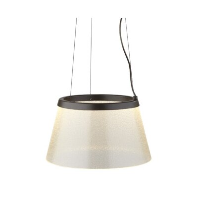 Duke 1-Light Pendant Finish: Bronze, Color: Clear With Fizz