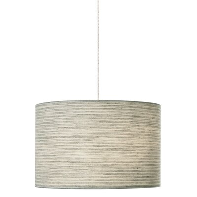 Fiona 2-Light Track Pendant Shade Color: Pewter, Finish: Satin Nickel, Mounting Type: Monorail Track Pendant