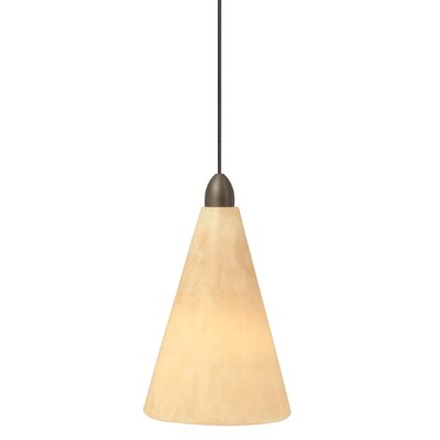 Onyx 1-Light Pendant Finish / Mounting: Satin Nickel / Pendant Only