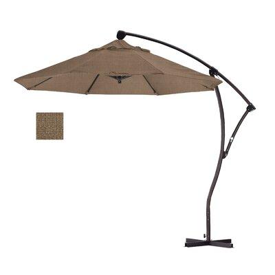 9' Cantilever Umbrella Fabric: Woven Sesame BA908-F76