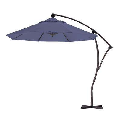 9 Cantilever Umbrella Fabric: Saphire