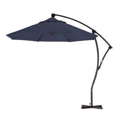9 Cantilever Umbrella Fabric: Navy Blue