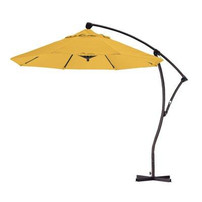 9 Cantilever Umbrella Fabric: Lemon