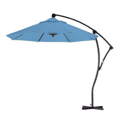 9 Cantilever Umbrella Fabric: Frost Blue