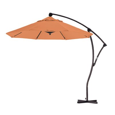 9' Tilt Umbrella Fabric: Sunset