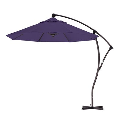 9 Cantilever Umbrella Fabric: Purple