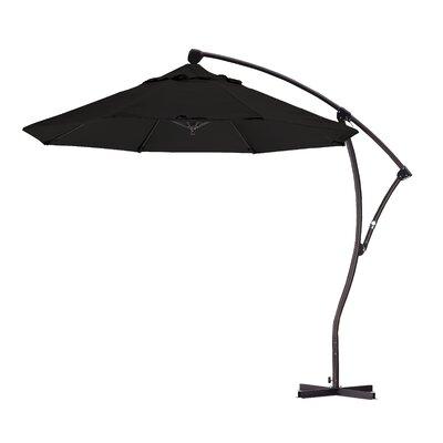 9 Cantilever Umbrella Fabric: Black