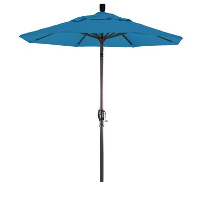 6 Market Umbrella Color: Pacific Blue