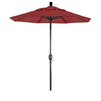 6 Market Umbrella Color: Jockey Red